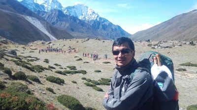 Lead Guide Chandra Bajyoo Tamang