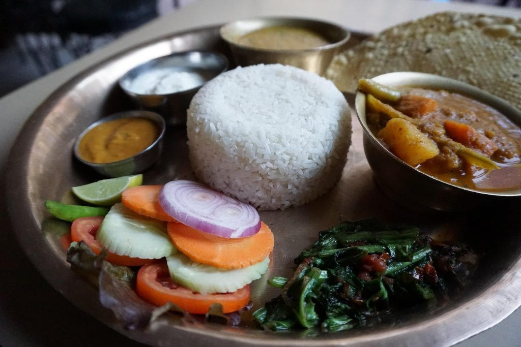 Simple Nepalese hygienic foods
